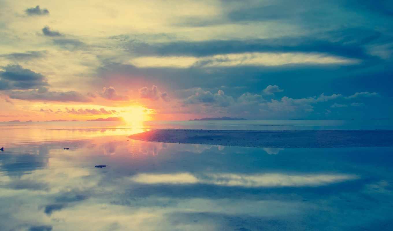 water, que, море, landscape, заставки, только, облака, mismo, daily, amor,