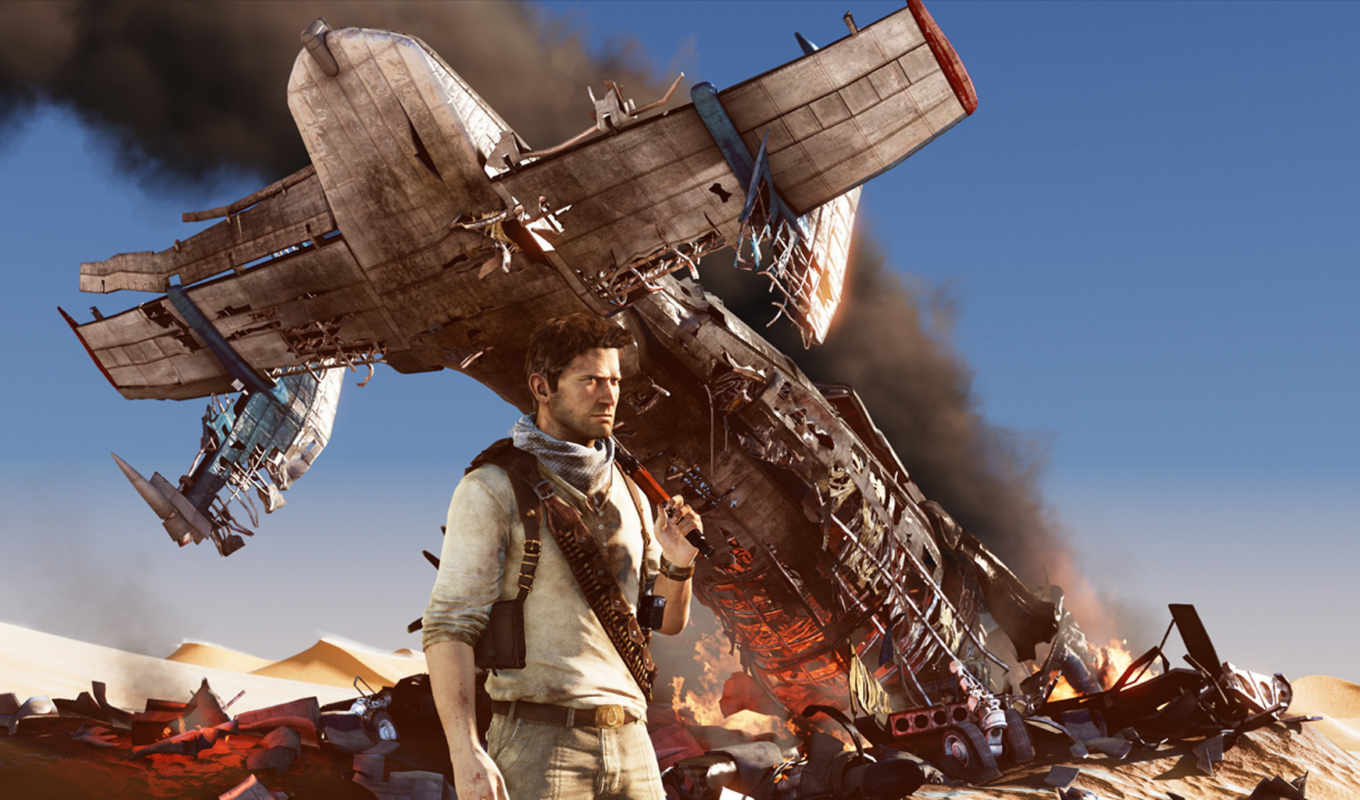 uncharted, drake, deception, игры, the, об, action