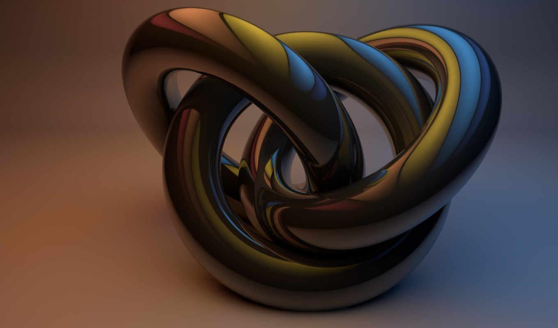 графикой, трехмерной, фона, shape, circle,