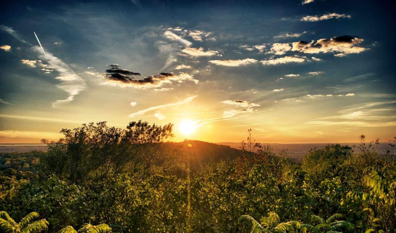 солнца, landscape, пейзажи -, восход, войдите, time, sun, зарегистрируйтесь, contact,