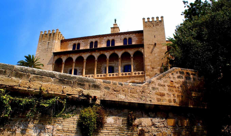 испания, города, дворец, замок, am, ipad, альмудайна, модульная, royal,