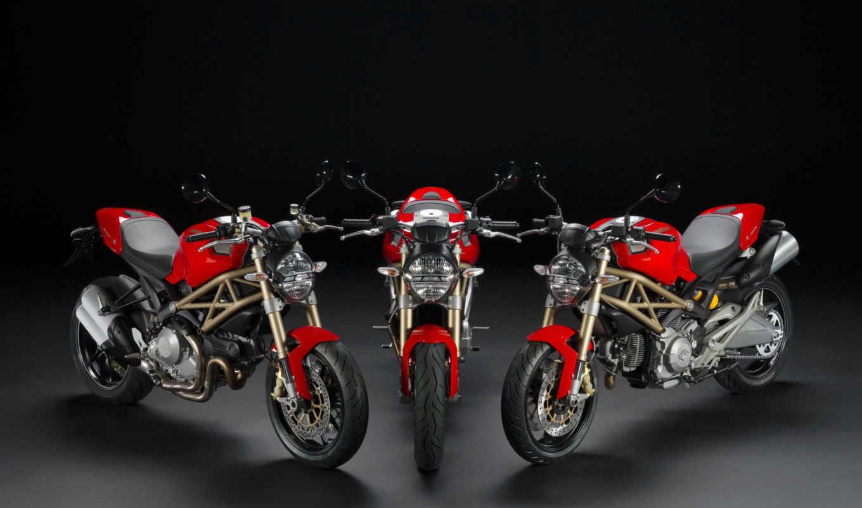 monster, ducati, anniversary, evo, мотоцикл,