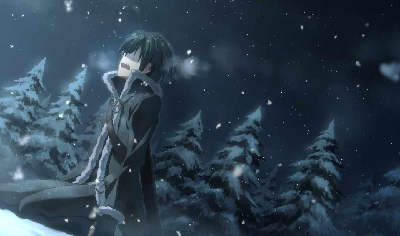 online, art, меч, sao, kirito, мастера, меча, anime,