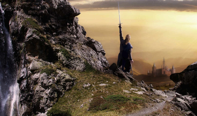 меч, мужчина, воин,