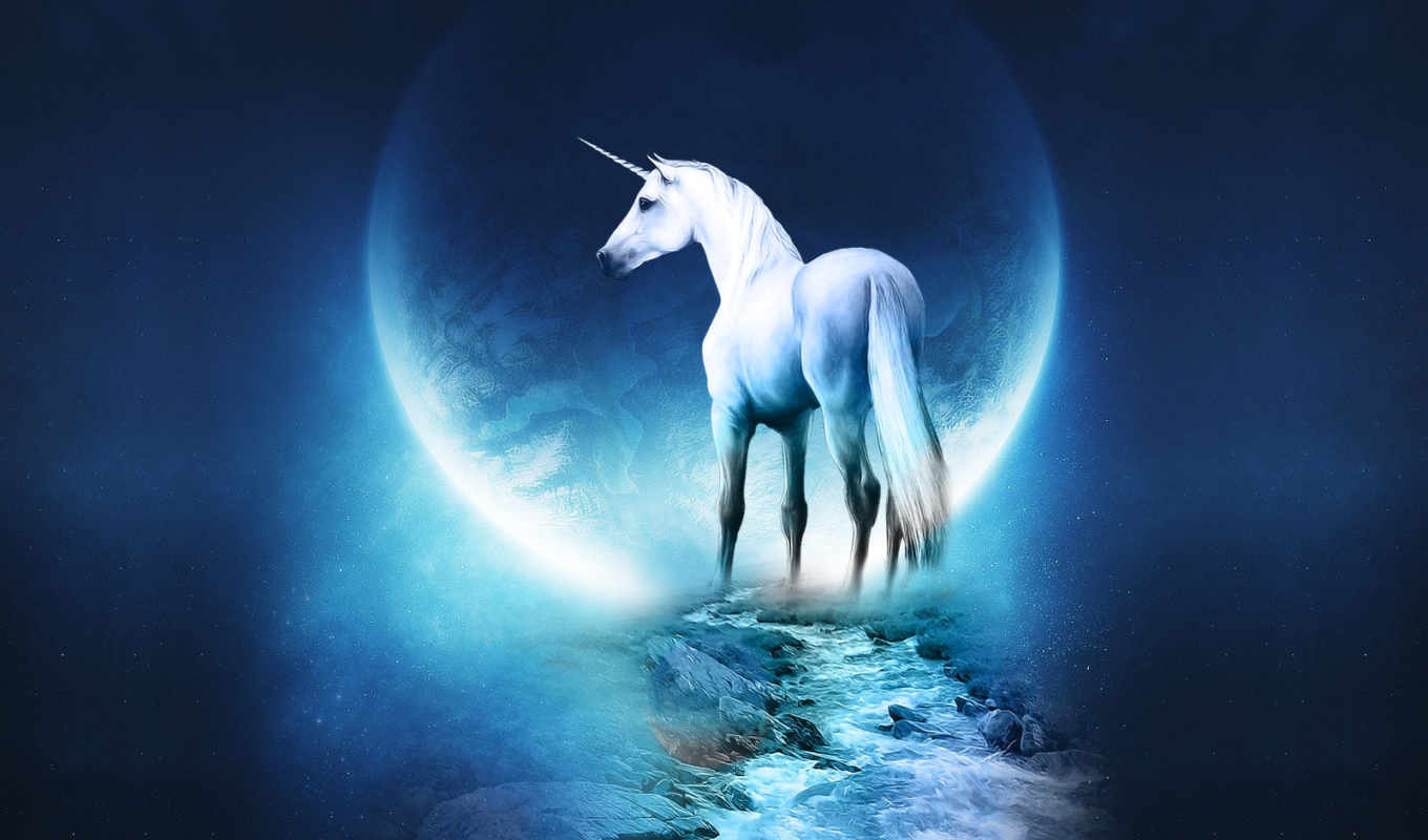 fantasy, blackberry, unicorn, desktop, space, this, horse, mystic,