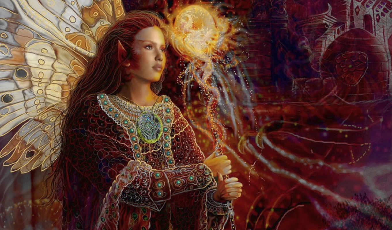 fantasy, fairy, steve, roberts, art,