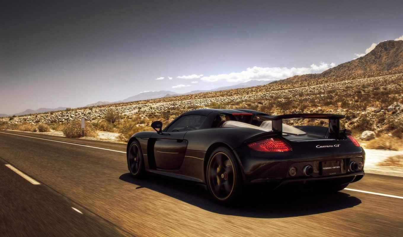 авто, машины, автомобили, пустыня, дорога, porsche,