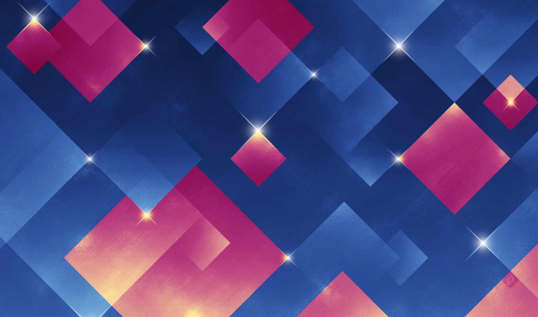 абстрактные, геометрия, узоры, синие,