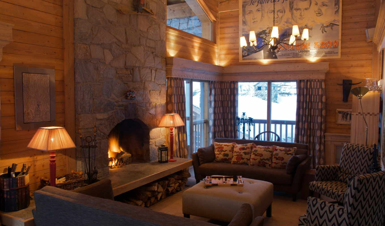 интерьер, design, living, salle, дома, люстра, диван, огни,