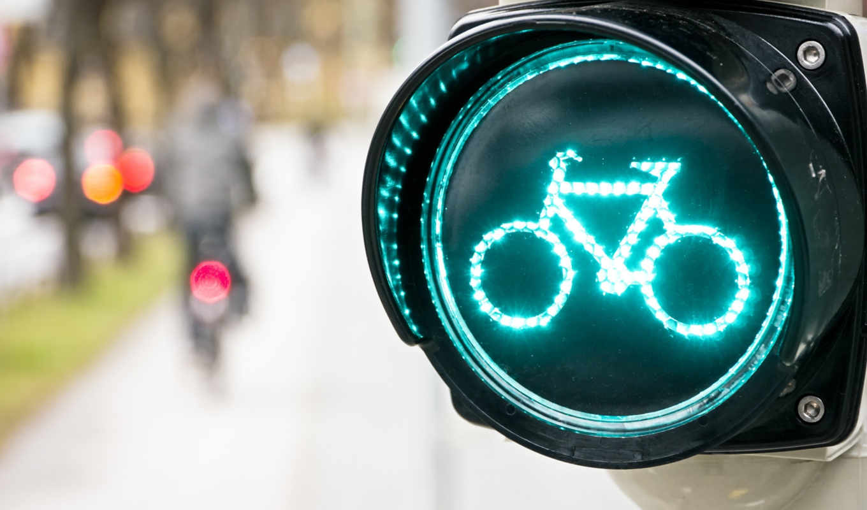 bike, sign, светофор, разное, дорога,