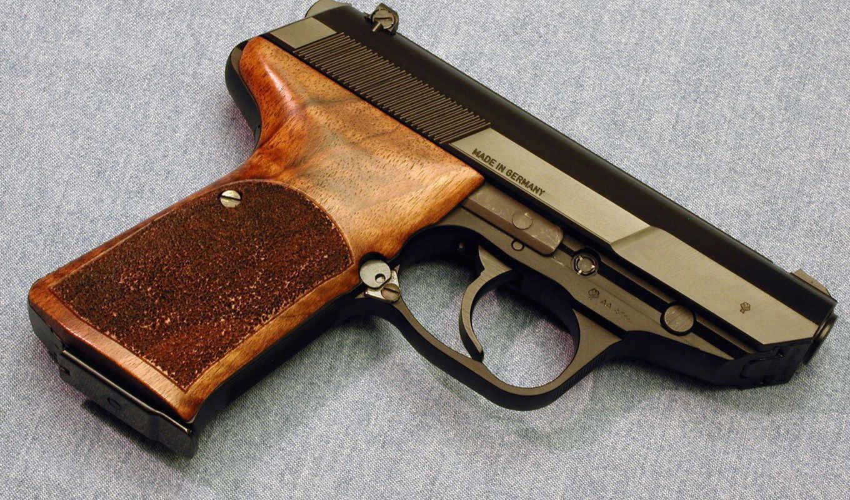 джинсовая, ткань, ствол, германия, пистолет, оружие,