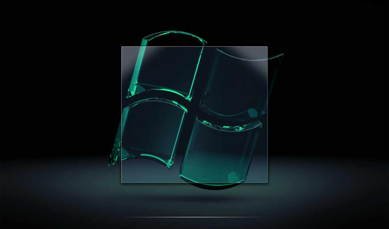 windows, grey, green, glass, logo, transparent