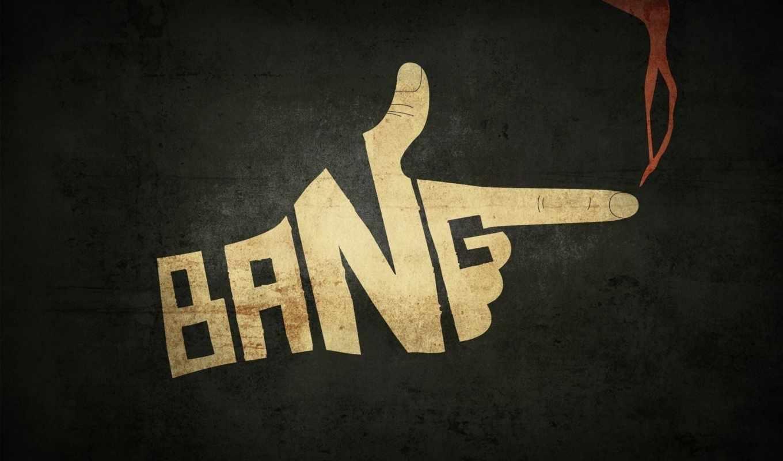 палец, серый, bang, выстрел,