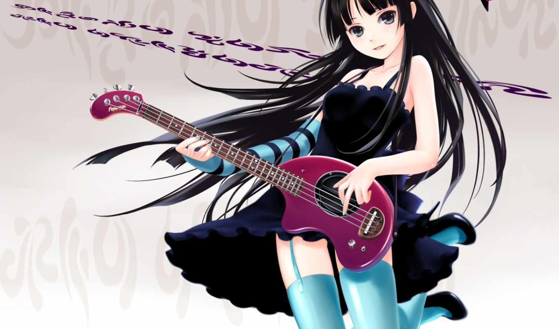 anime, гитара, favourite,