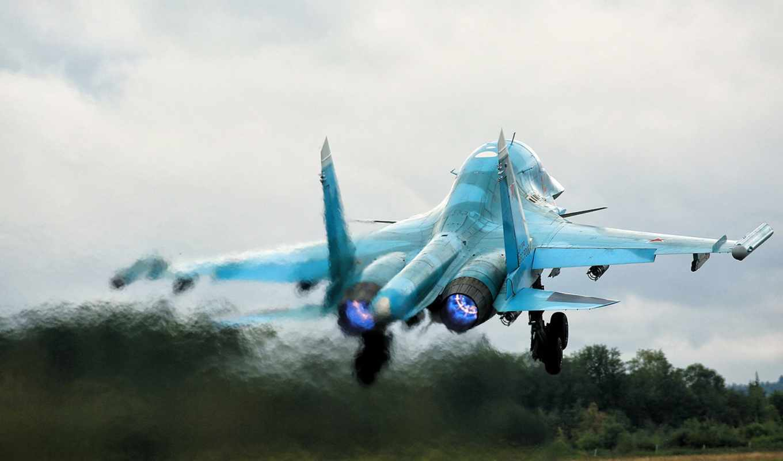 су, sukhoi, su-34,