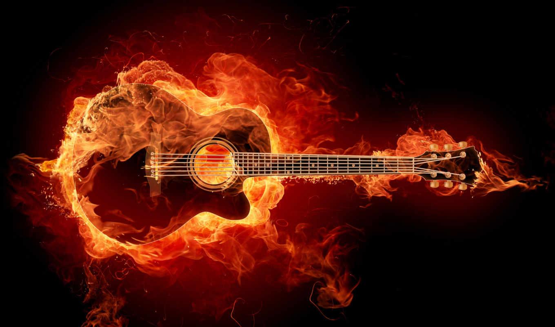 guitar, guitarra, fondo, facebook, fuego, pantalla,, guitarloops, fondos,