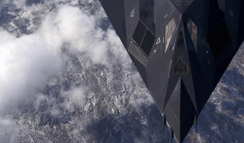 nighthawk, стэлс, полет, an, картинка, high, over, new, mexico,