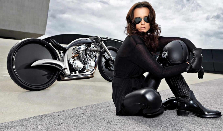 мотоциклы, девушки, девушками,