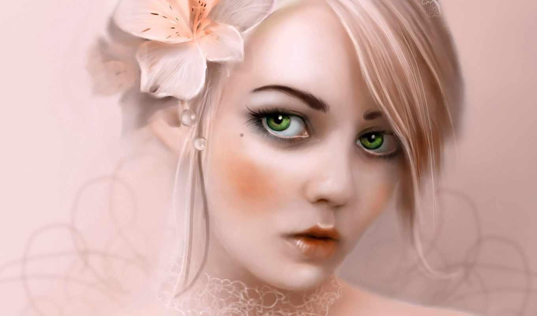 зелёный, eyes, но, волосы, любви, фотографий, world,
