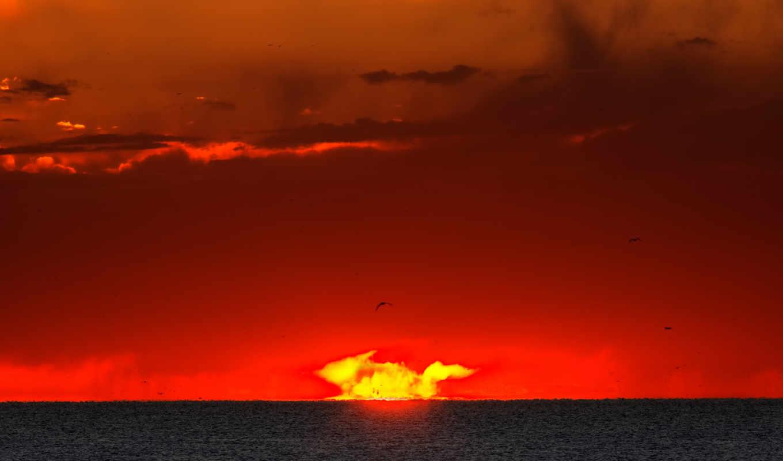 восход, солнце, вспышка, www, sunrises, картинка, apod, sunsets, nature,