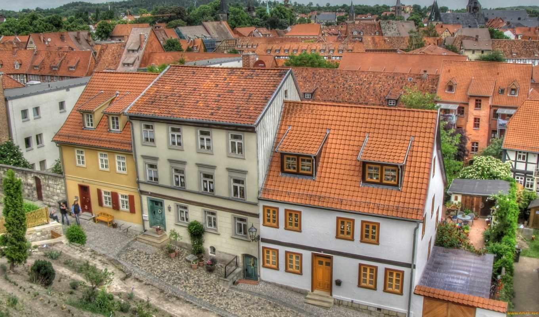 города, смотреть, дома, обою, истинном, сша, hdr, размере, особняк,