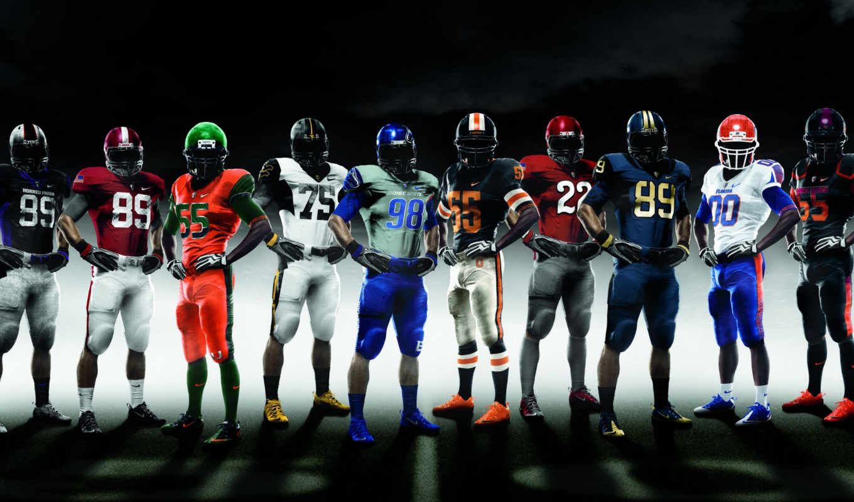 футбол, американский, спорт,