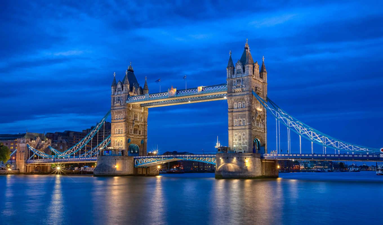 мост, тауэрский, london, лондона,