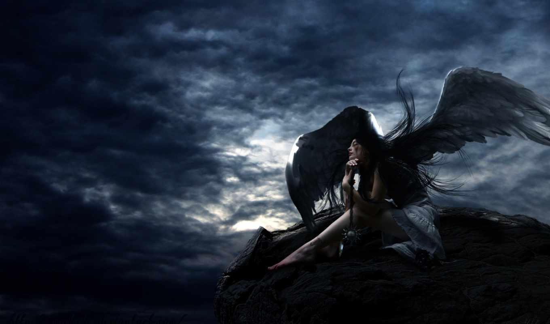 , desktop, full, wings, photo, background, picture, elf,