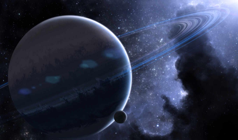 космос, кольца, планеты, planet, nebula, картинка, картинку,
