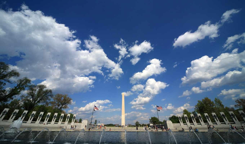 вашингтона, washington, сша, высотой, весом, городе, обелиск, granite, гигант, англ, метров,