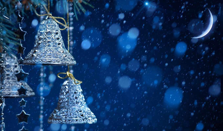 новогодние, колокольчики, ios,