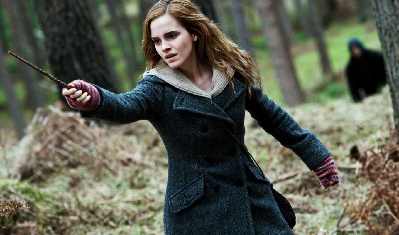 гарри, смерти, дары, поттер, часть, hermione, грейнджер, deathly,