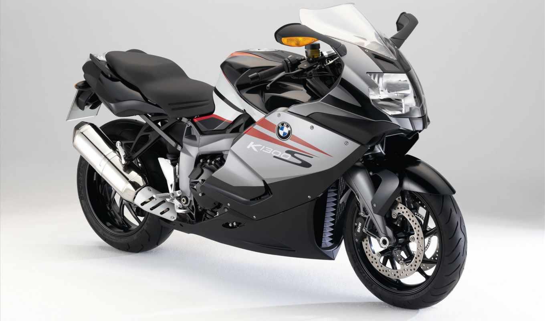 bmw, мотоциклы, мотоцикл, white, прикрепленное,