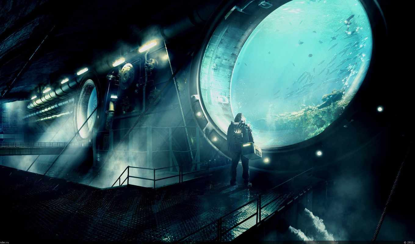 underwater, station, download, free,