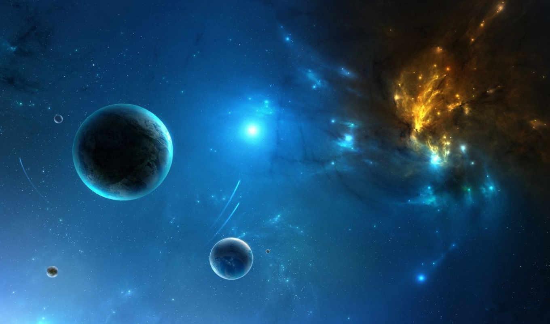 планеты, туманность, газовая, картинка, картинку,