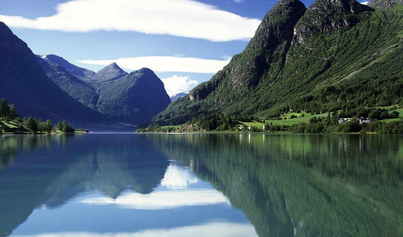 горы, норвегии, норвегия,