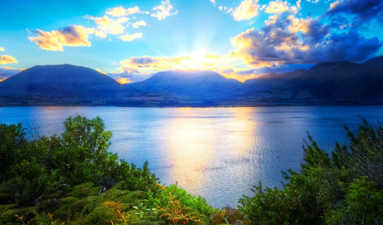 природа, заставки, небо,