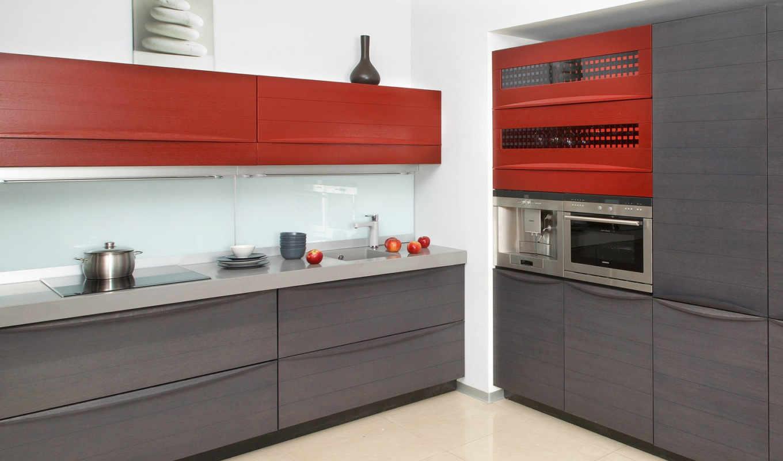 кухня, кухни, interer, dizain, серая,