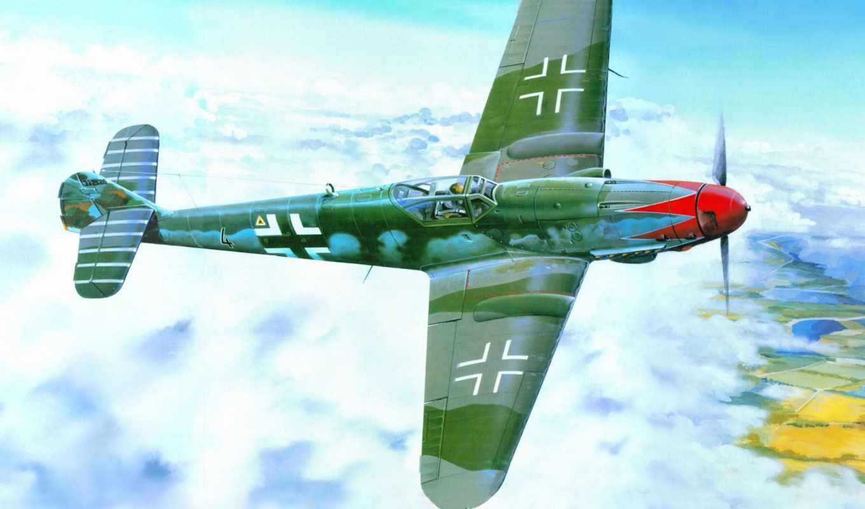 trumpeter, messerschmitt, авиация, aviões, painéis,