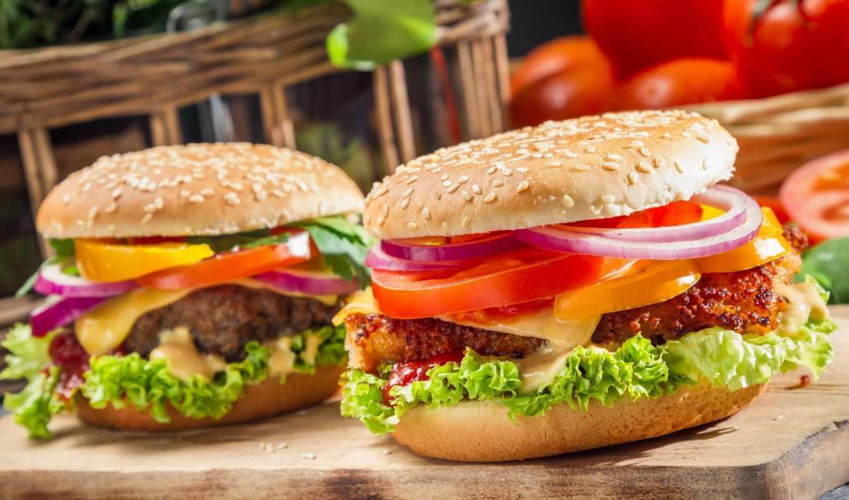 ,, гамбургер, быстрое питание, пища, сандвич, veggie burger, блюдо, нездоровая пища, cheeseburger, breakfast sandwich, закуски, american cuisine, картофель фри, мясо, булочка, кухня