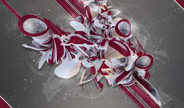 линии, пыль, трубы, abstract, red,