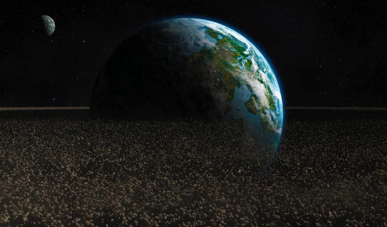 earth, самые, разрешением, красивые, астероиды, качественные,