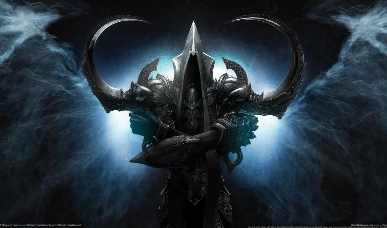 diablo, reaper, iii, souls, blizzard, game,
