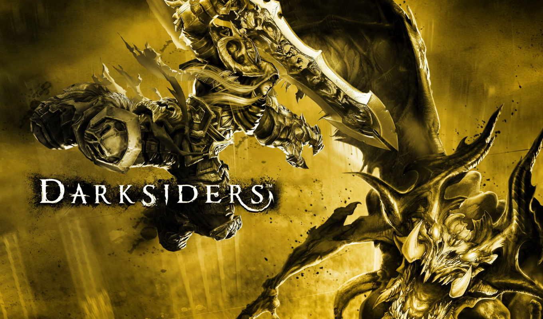 darksiders, wrath, war,