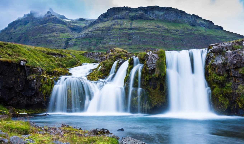 waterfalls, водопад, природа, водопады, definition, high, картинка, wide,