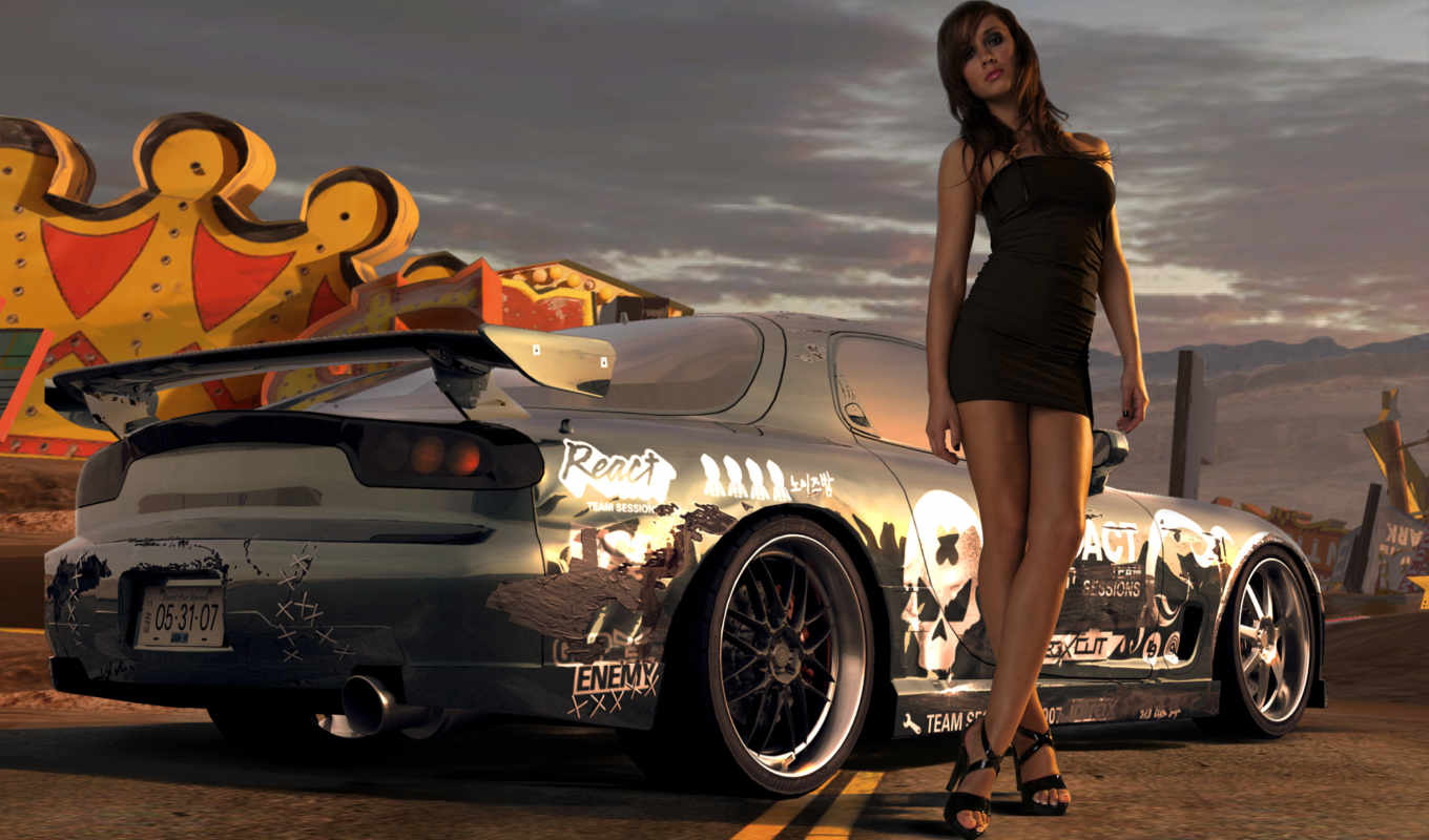 speed, need, prostreet, desktop, nfs, girl, pro, street, background, download,