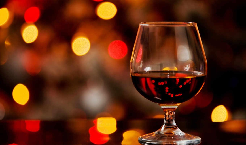 коньяк, алкоголь, бокал, боке, смотрите, другие, abstract,