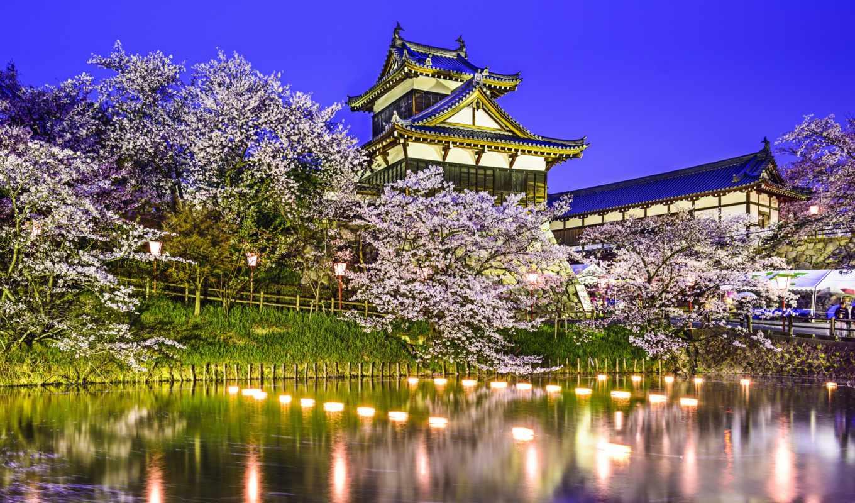 castle, замoк, япония, koriyama, yamatokoriyama, фотообои, японія, последние,