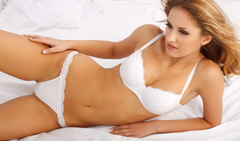 нижнее, белье, девушка, babe, кровать, devushki, sexy, белое,