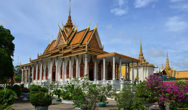 phnom, royal, дворец, cambodia, news